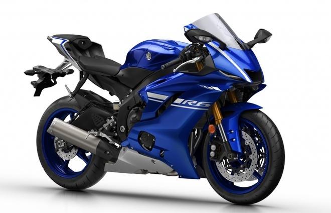 Yamaha R6 ra mat anh 1