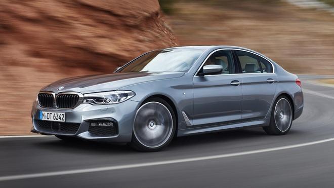 10 diem thu vi tren BMW 5-Series 2017 hinh anh