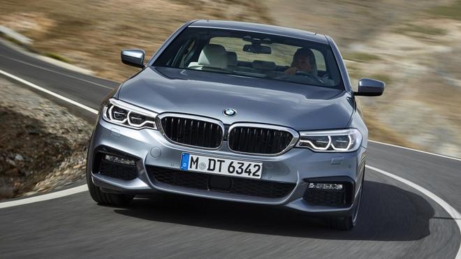 BMW 5-Series 2017 ra mat anh 6