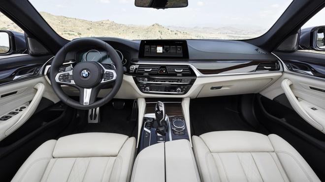 BMW 5-Series 2017 ra mat anh 9