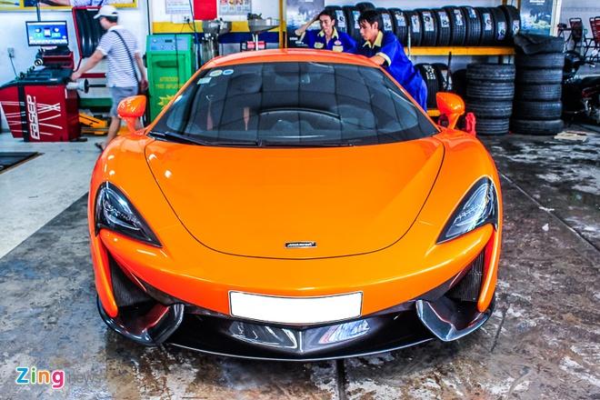 Sieu xe McLaren 570S mau cam nam tien hinh anh 1