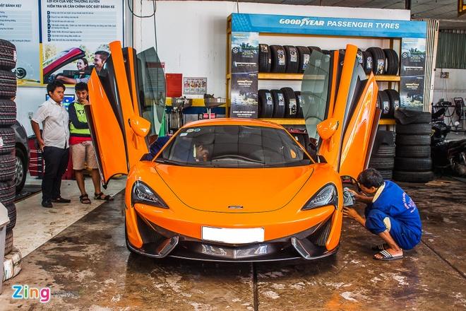 Sieu xe McLaren 570S mau cam nam tien hinh anh 2