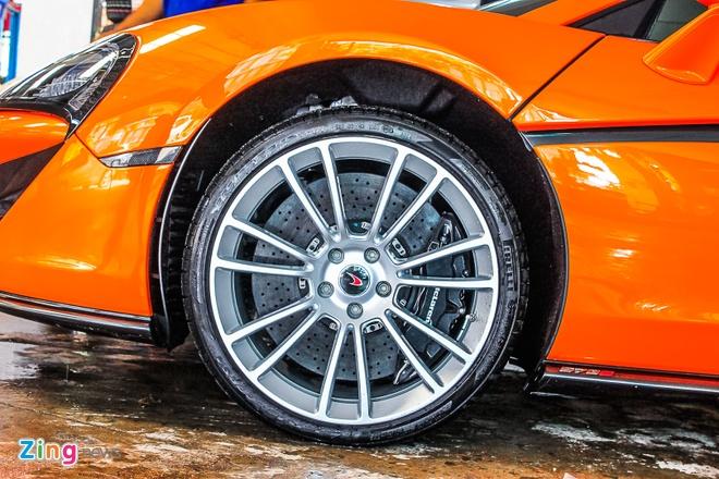 Sieu xe McLaren 570S mau cam nam tien hinh anh 8