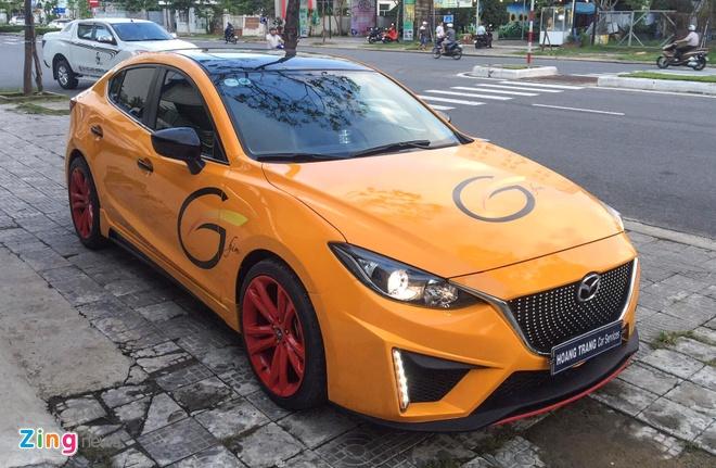 Mazda3 thay ao vang doc nhat Viet Nam hinh anh