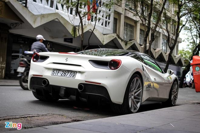 Ferrari 488 GTB cua Cuong Do La len doi mam Vossen hinh anh 6