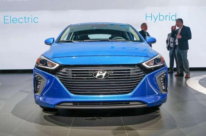 Mau SUV dien cua Hyundai co the chay duoc 320 km moi lan sac hinh anh 1