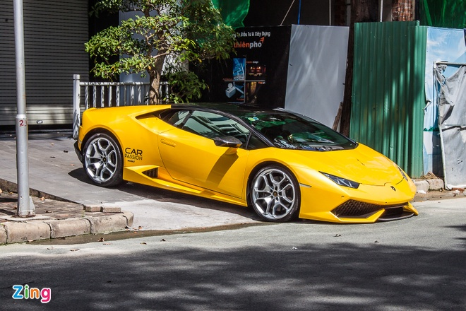 Loat sieu xe Lamborghini cua dai gia Viet dao pho hinh anh 6