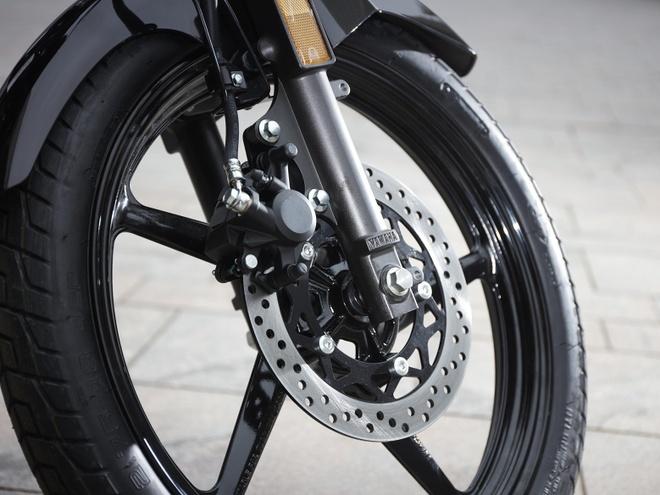Yamaha YS125 - nakedbike cho nguoi moi choi hinh anh 10