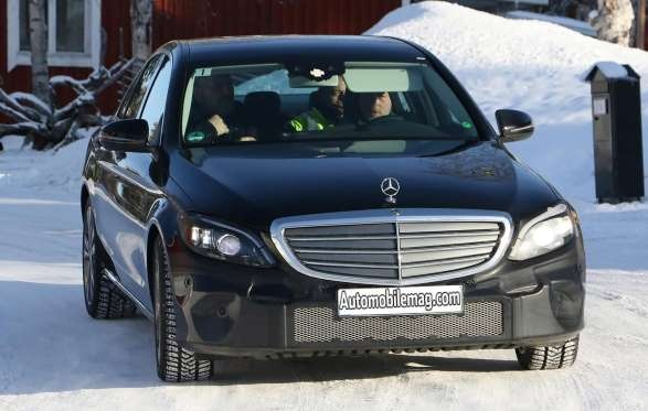 He lo hinh anh moi nhat cua Mercedes-Benz C-Class 2018 hinh anh