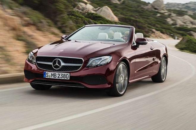 Nhung hinh anh dau tien cua Mercedes-Benz E-Class Cabriolet 2018 hinh anh 1