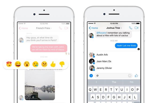 Facebook Messenger lai chuan bi cap nhat tinh nang moi hinh anh