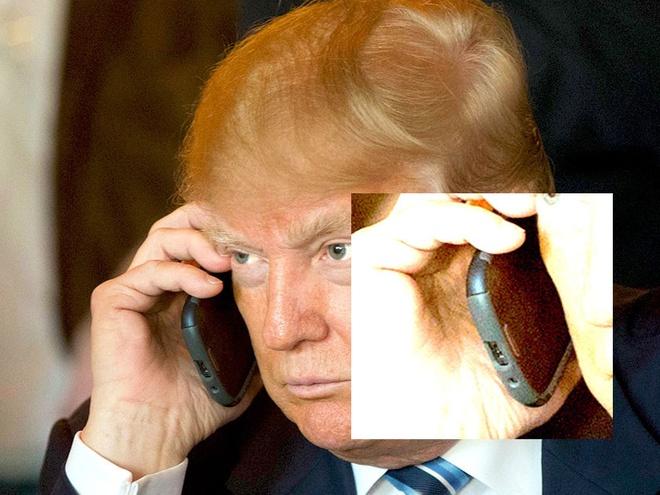 Tong thong My Donald Trump chuyen qua dung iPhone hinh anh 1