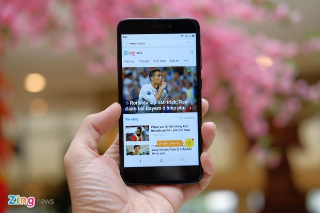 Xiaomi Redmi 4X chinh hang,  3, 99 trieu anh 1