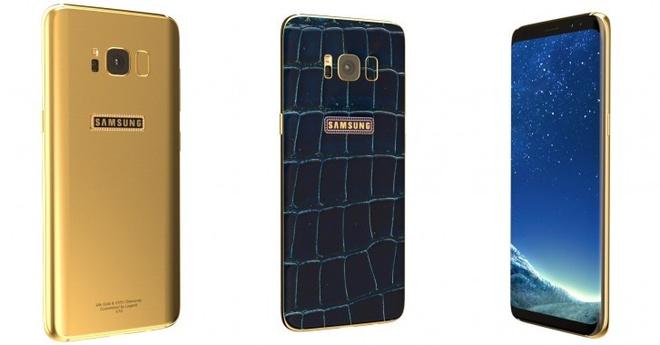 Galaxy S8 phien ban da ca sau dinh kim cuong xanh hinh anh 1