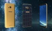 Galaxy S8 phien ban da ca sau dinh kim cuong xanh hinh anh