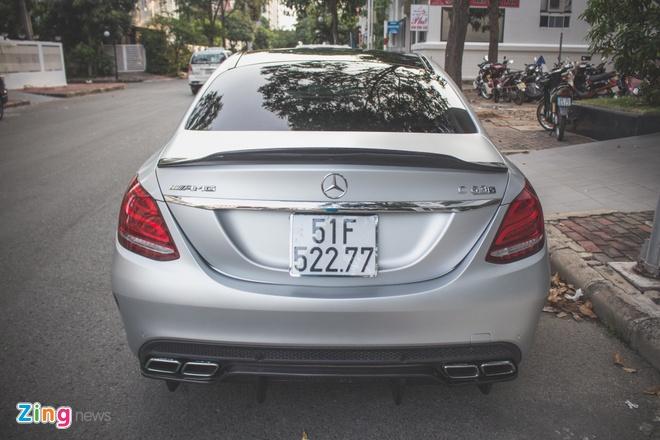 Xe sang Mercedes do doc nhat Viet Nam cua Cuong Do La hinh anh 3