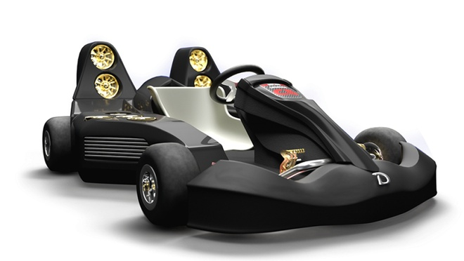 Mau xe dien Go kart tang toc nhanh hon ca Bugatti Veyron hinh anh 2