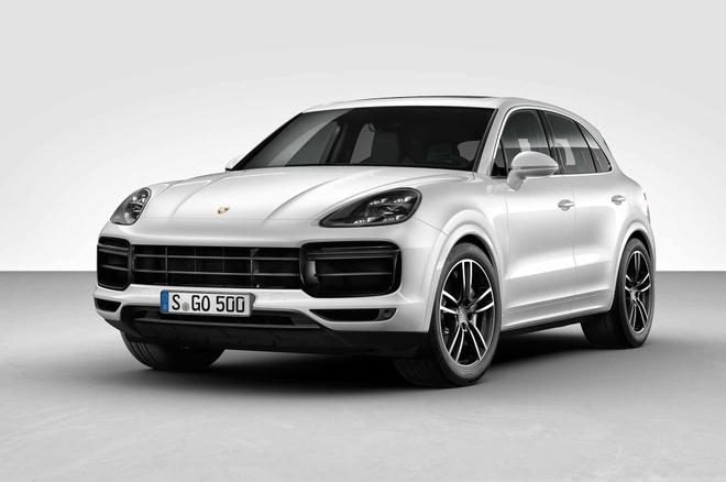 Porsche Cayenne Turbo 2019 toa sang tai trien lam Frankfurt hinh anh