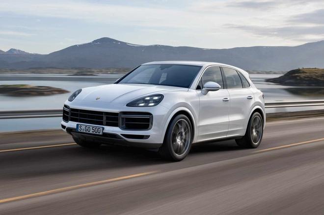 Porsche Cayenne Turbo 2019 toa sang tai trien lam Frankfurt hinh anh 1