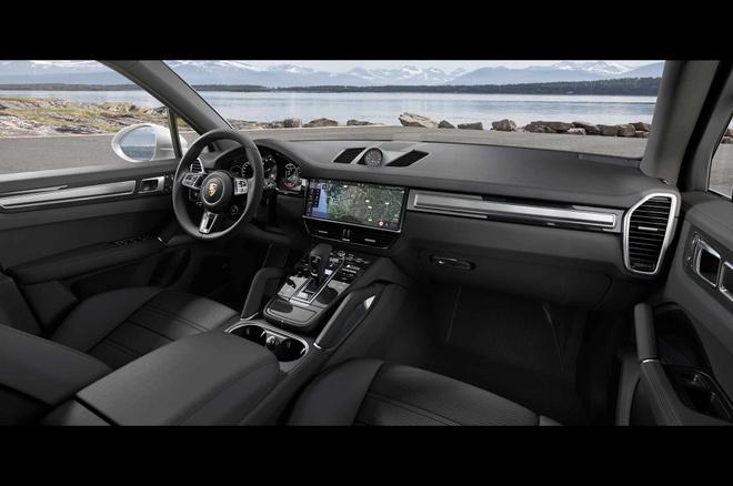 Porsche Cayenne Turbo 2019 toa sang tai trien lam Frankfurt hinh anh 2