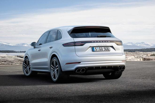 Porsche Cayenne Turbo 2019 toa sang tai trien lam Frankfurt hinh anh 5