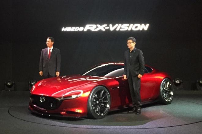 Mazda RX Vision trinh lang vao thang 10 hinh anh