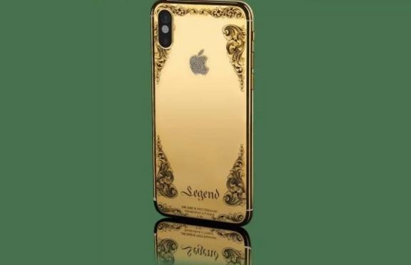 Nhung chiec iPhone X sang chanh ma vang, kham kim cuong hinh anh