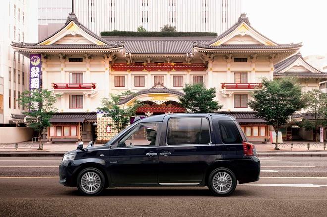 Toyota ra mat xe taxi moi tai Nhat Ban hinh anh 1