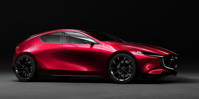 Mazda Kai Concept mo phong the he moi cua Mazda3 hinh anh 1