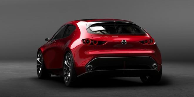 Mazda Kai Concept mo phong the he moi cua Mazda3 hinh anh 2