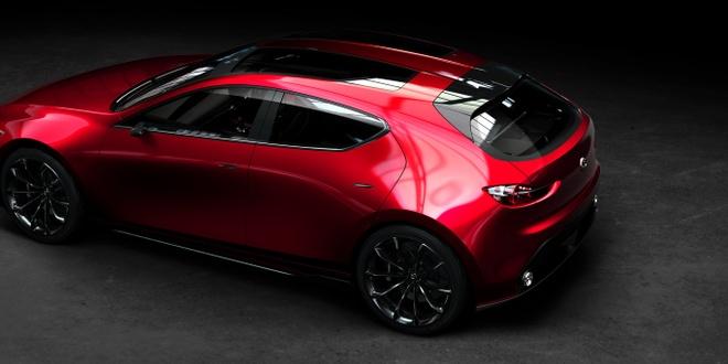 Mazda Kai Concept mo phong the he moi cua Mazda3 hinh anh 3