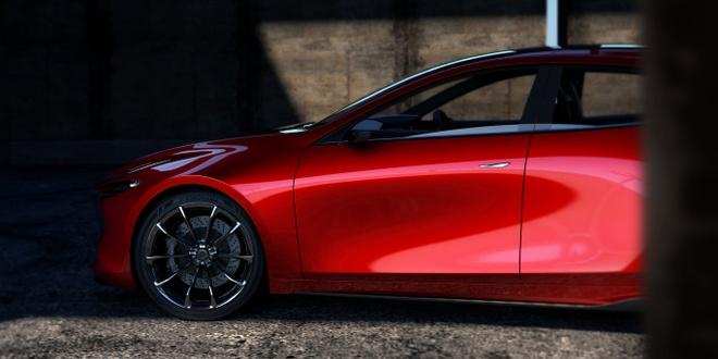 Mazda Kai Concept mo phong the he moi cua Mazda3 hinh anh 8