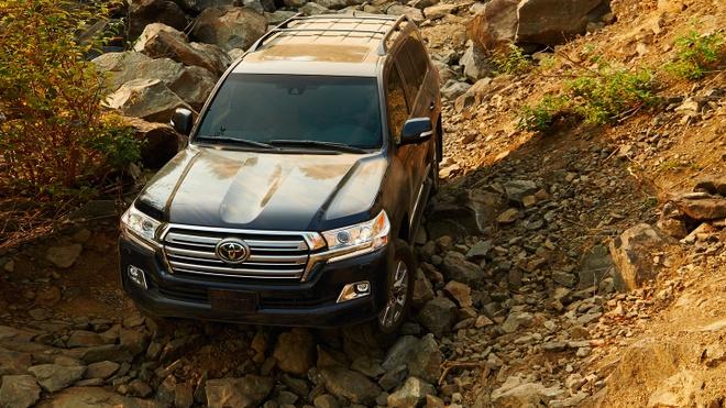 Thu nghiem va danh gia Toyota Land Cruiser 2018 hinh anh 2