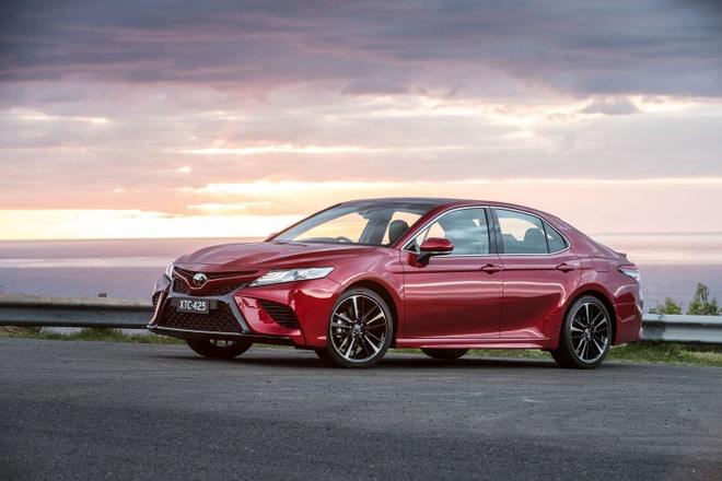 Toyota Camry 2018 ra mat tai Australia: Thiet ke manh me hon hinh anh 1