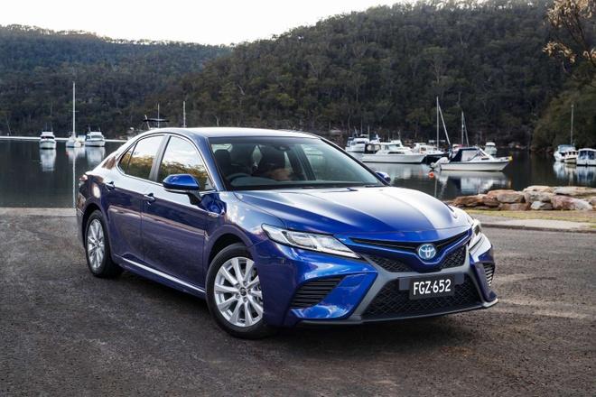 Toyota Camry 2018 ra mat tai Australia: Thiet ke manh me hon hinh anh 7