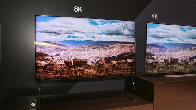 Samsung ra mat cong nghe AI bien video thuong thanh 8K hinh anh