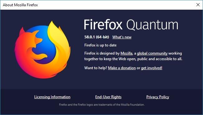 Neu duyet web bang Firefox, hay nang cap ngay lap tuc hinh anh 1