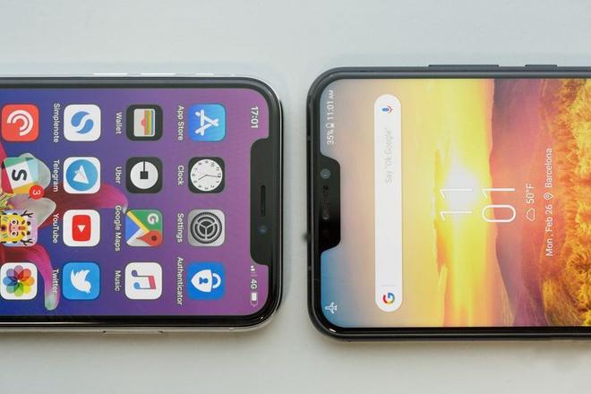 Asus vua trinh lang 'iPhone X chay Android' hinh anh