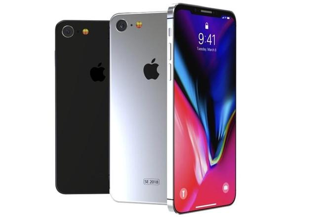 Ro ri hinh anh iPhone X SE sap ra mat anh 1