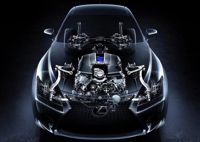 Lexus RC lot xac voi phien ban 'bao den' hinh anh 3