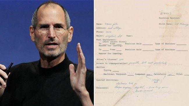 Thu xin viec day loi chinh ta cua Steve Jobs co gia 175.000 USD hinh anh