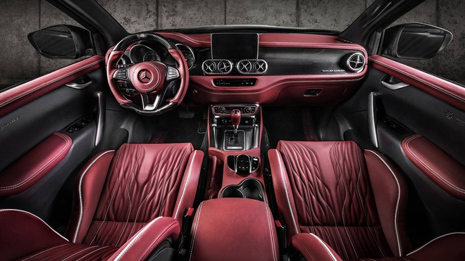 Mercedes X-Class bui bam hon voi goi do tu Carlex Design hinh anh 6