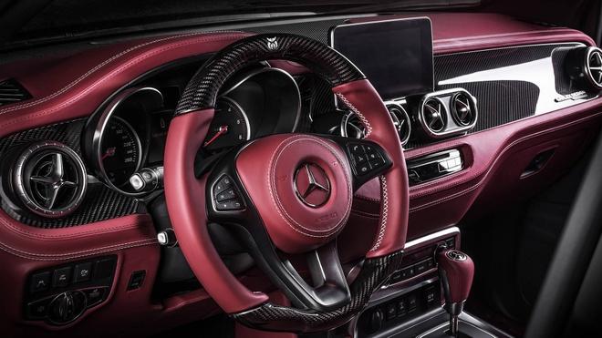 Mercedes X-Class bui bam hon voi goi do tu Carlex Design hinh anh 7