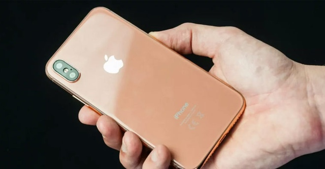 iPhone X mau blush gold sap ra mat? hinh anh