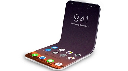 Apple co the ra mat iPhone man hinh gap nam 2020 hinh anh