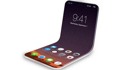 Apple co the ra mat iPhone man hinh gap nam 2020 hinh anh 1