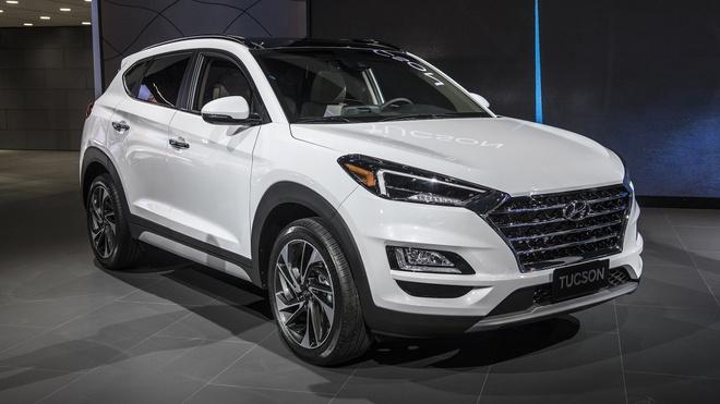 Hyundai Tucson 2019 trinh lang, doi dau Mazda CX-5 hinh anh