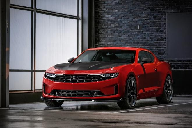 Chevrolet Camaro 2019 lo dien voi thiet ke an tuong hinh anh