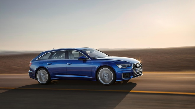 Audi A6 Avant 2019 ra mat, doi dau BMW 5 Series Touring hinh anh