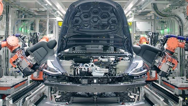 Tesla chay nuoc rut de san xuat 6.000 chiec Model 3 moi tuan hinh anh 1
